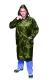 Orkán esőkabát, 120cm hosszú, zöld