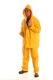 Sárga PVC öltöny (derekasnadrág + dzseki)