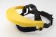 Homlokvédős arcvédő keret, 20x30cm, sárga