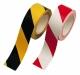 Öntapadós jelzőszalag, sárga/fekete, 20m/tekercs