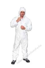 Tyvek® Classic fehér overall, kapucnis
