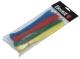 Kábelkötegelő klt.(piros-zöld-sárga-fehér)120db-os 20cm