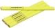 Ácsceruza 175 mm (ovál sárga)