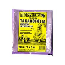 MORPHEUS Takarófólia 4x5m Járható-létrázható (35 mikron)
