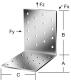Vormann Perforált derékszög lemez 80x80x60 2,5
