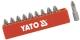 "Bithegy PZ3 1/4"" 25 mm 10db/bl. YATO"