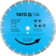 Gyémánt vágótárcsa szegmentált 350 YATO