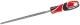 Reszelő gömbölyű 250 mm finom YATO