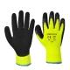 Thermal Soft Grip kesztyű - sárga/fekete