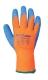 Hűtőházi kesztyű, narancs / kék, Akril/Latex