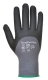 DermiFlex Ultra védőkesztyű, fekete