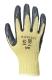 Kevlar® tenyérmártott nitril kesztyű, sárga / szürke, Kevlar®, nitril