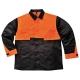Oak kabát, fekete, 65% Poliészter 35% Pamut 245g