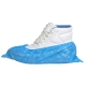 PE cipővédő (100 db), kék, Polietilén