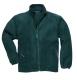 Argyll vastag polár pulóver, zöld, 100% poliészter