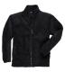 Argyll vastag polár pulóver, fekete, 100% poliészter