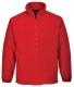 Argyll vastag polár pulóver, piros, 100% poliészter