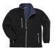 City polár pulóver, fekete, 100% poliészter