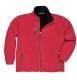City polár pulóver, piros, 100% poliészter