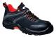 Compositelite Operis védőcipő S3, fekete/narancs, Nubuck, PU/Gumi - Talp F