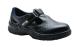 Steelite szandál S1, fekete, Népszerű stílus munkavédelmi szandál, amely magában foglalja az acél orrmerevítő és perforált felső extra szellőzőt. Tépőzáras a gyors és kényelmes viseletért.