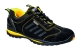 Steelite Lusum védőcipő S1P, fekete/sárga, Marhabőr, Gumi - Talp F