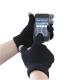 Touchscreen kötött kesztyű , fekete, 100% Akril