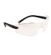 Profil védőszemüveg, víztiszta, polikarbonát UV370 & gumi szár