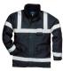 Iona Lite kabát, tengerészkék, 100% poliészter, 300D Oxford szövés, PU bevonattal, 190g. tanúsítás EN343 Class 3:1