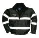 Iona Lite bomber dzseki, fekete, 100% poliészter, 300D Oxford szövés, PU bevonattal