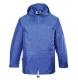 Klasszik esődzseki, royal kék, 100% poliészter PVC bevont (150g)