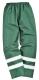 Iona Lite nadrág, zöld, 100% poliészter, 300D Oxford szövés, PU bevonattal, 190g. tanúsítás EN343 Class 3:1
