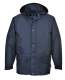 """Arbroath lélegző polár béléses kabát, tengerészkék, 100% poliészter """"lélegző"""" PU bevonattal (160g)"""