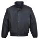 Falkirk dzseki, fekete, 100% poliészter, PVC bevont (160g)