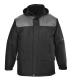 Angus kabát, szürke, 100% poliészter PVC bevont, 160g ujjak: nylon 60g, szövet 100g
