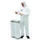 BizTex Microporous overál 6 / 5 (50 db), fehér, mikropórusos PP/PE (63g)