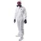 BizTex® Microporous overál cipővédővel, Type 6/5, fehér