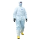 Biztex MicroCool 5/6 overál, fehér, BizTex® PP/PE & SMS