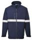IONA Softshell dzseki, tengerészkék, 94% poliészter, 6% Spandex, 160g, 100% poliészter mikro polár anyaggal laminálva
