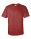 Ultra Cotton T, 205g, Cardinal Red -Bíbor kereknyakú póló