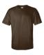 Ultra Cotton T, 205g, Dark Chocolate -Sötét csokibarna kereknyakú póló