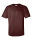Ultra Cotton T, 205g, Maroon -Lilásbordó kereknyakú póló