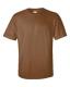 Ultra Cotton T, 205g, Chestnut – Gesztenye barna kereknyakú póló
