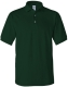 100 % Cotton Pique Polo, 240g, Forrest Green -Erdő zöld
