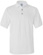 100 % Cotton Pique Polo, 230g, White-Fehér