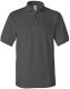 100 % Cotton Pique Polo, 240g, Charcoal- Faszén szín