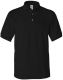 100 % Cotton Pique Polo, 240g, Black-Fekete