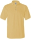 100 % Cotton Pique Polo, 240g, Yellow Haze -Halvány sárga
