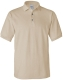 100 % Cotton Pique Polo, 230g, Natural-Natúr szín