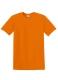 Heavyweight T, 185g, Orange-Narancs kereknyakú póló